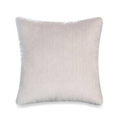 Glenna Jean Lilly & Flo Velvet Throw Pillow in White