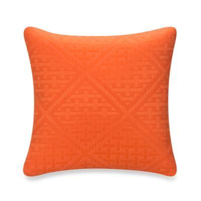 Glenna Jean Lilly & Flo Throw Pillow in Orange
