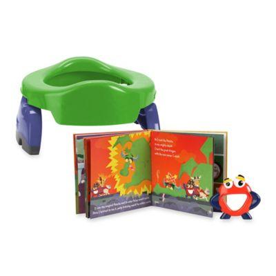 Mr. Petey Potette 2-in-1 Potty Training Kit in Green