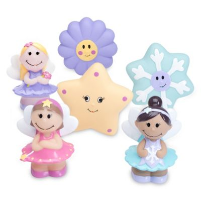 Elegant Baby® Fairy Party 6-Piece Bath Squirties