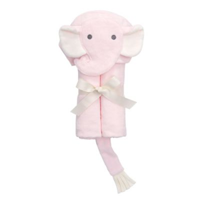 Elegant Baby® Elephant Bath Wrap in Pink