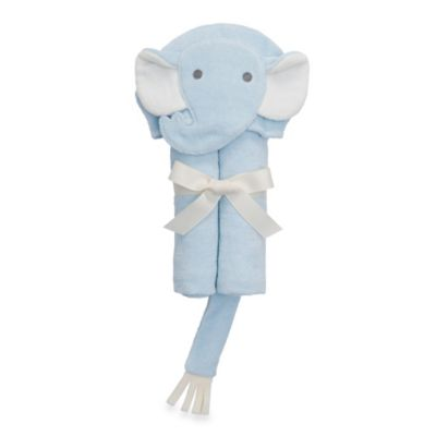 Elegant Baby® Elephant Bath Wrap in Blue