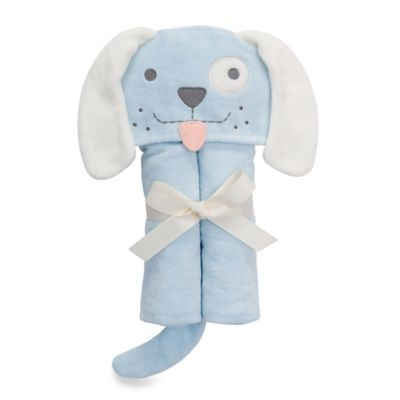 Elegant Baby® Puppy Bath Wrap in Blue