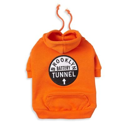 Dog Urban Extra Small Hoodie in Orange