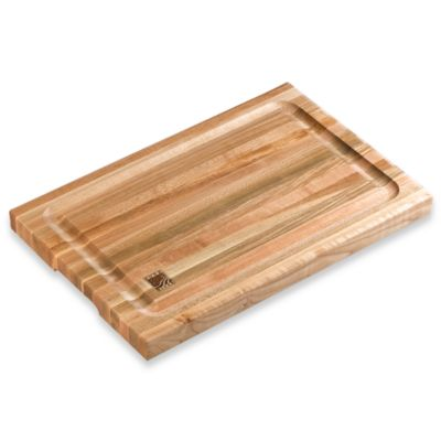 12-inch x 18-inch Cutting Board With Juice Wells