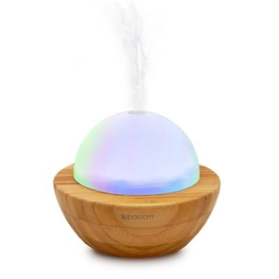 SpaRoom® AromaGlobe Glass and Bamboo Diffuser