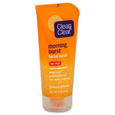 Clean and Clear® Morning Burst® 5 oz. Facial Scrub