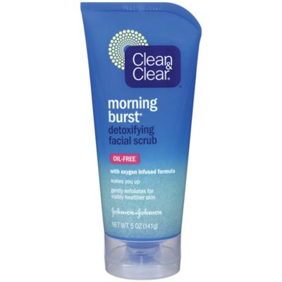 Clean and Clear® Morning Burst® 5 oz. Detoxifying Facial Scrub