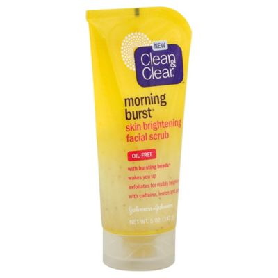 Clean and Clear® Morning Burst® 5 oz. Skin Brightening Facial Scrub