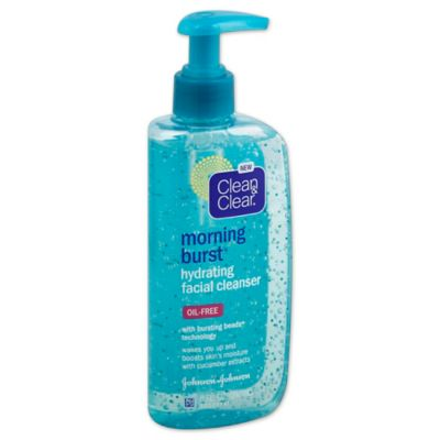 Clean and Clear® Morning Burst® 8 oz. Hydrating Facial Cleanser