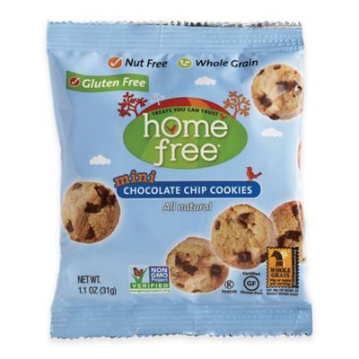 HomeFree 64-Count 1.1 oz. Gluten-Free Chocolate Chip Mini Cookies