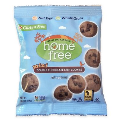 HomeFree 64-Count 1-oz. Gluten-Free Double Chocolate Chip Mini Cookies