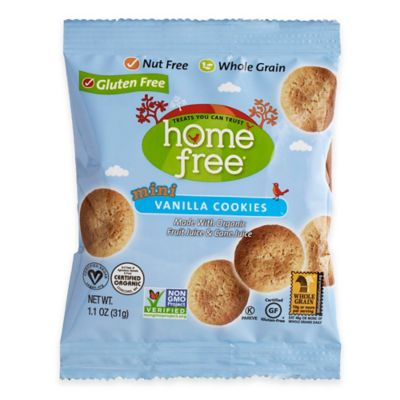 HomeFree 30-Count 1-oz. Gluten-Free Vanilla Mini Cookies
