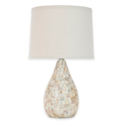 Cream with White Shade Lamps