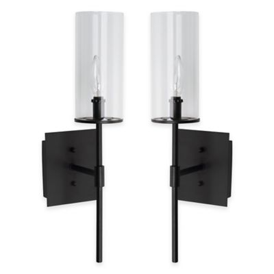 Safavieh Sunnycrest Sconces in White (Set of 2)