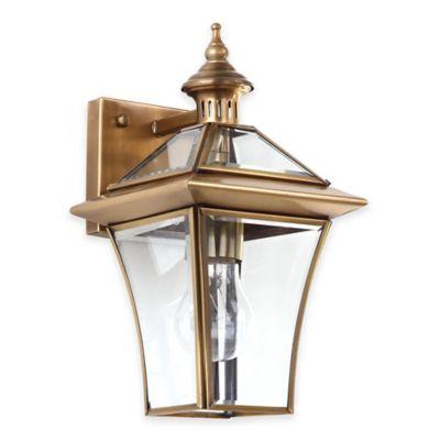 Brass Light Sconce