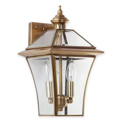 2 Light Glass Light
