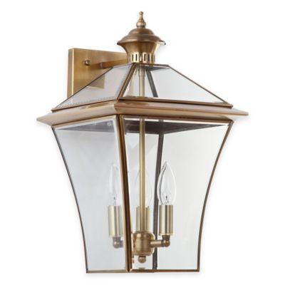 Safavieh Virginia Triple Light Sconce in Brass