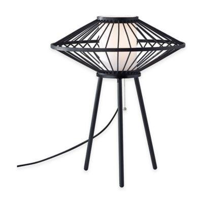 Adesso Calypso Table Lamp in Black