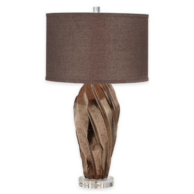 Pacific Coast® Lighting Indulgence Table Lamp in Brown