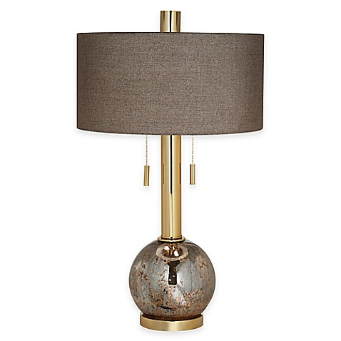 pacific coast lighting empress table lamp in gold bed bath. Black Bedroom Furniture Sets. Home Design Ideas