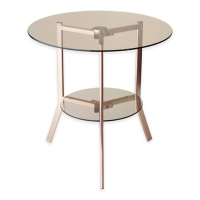 Adesso® Gibson End Table in Copper