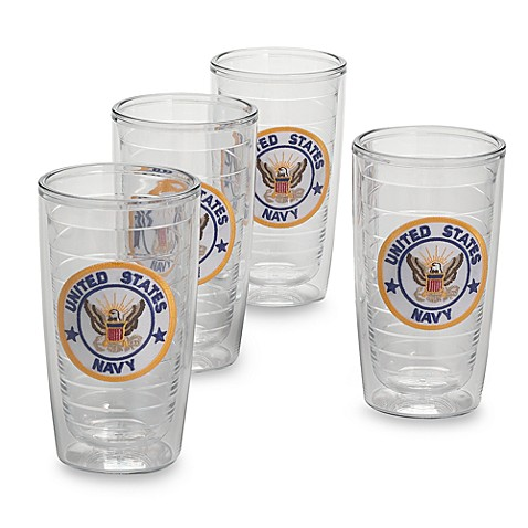 Tervis® U.S. Navy 16-Ounce Tumblers (Set of 4)