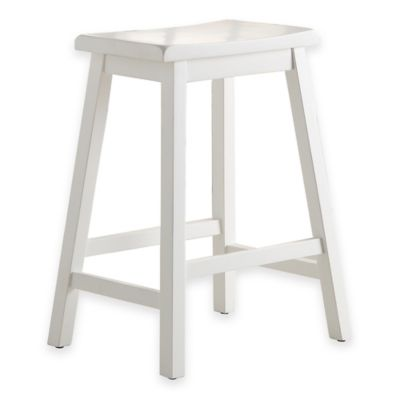 Buy Denville 24 Inch Counter Stool In Red From Bed Bath