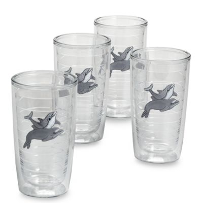 Dolphins 16-Ounce Tumblers (Set of 4)