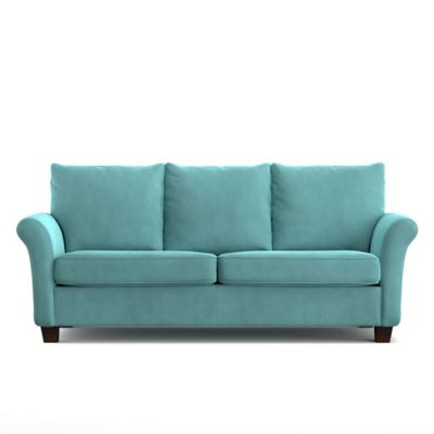 Handy Living Randy SoFast Sofa in Turquoise