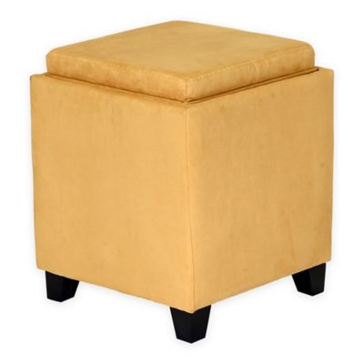 Buy Yellow Ottoman From Bed Bath Amp Beyond