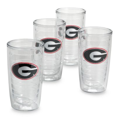 Tumbler University of Georgia 16-Ounce Tumblers
