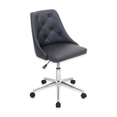 LumiSource Marche Office Chair in Grey