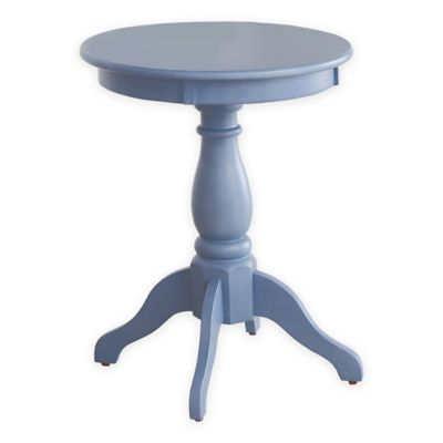Pedestal Accent Side Table Furniture