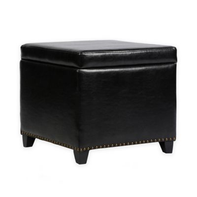 Emelie Ottoman in Brown