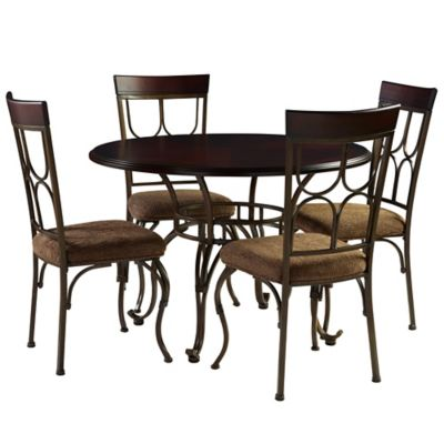 Bombay® 5-Piece Coleman Dining Set in Espresso