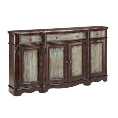 Stein World Laurie Sideboard in Blue/Brown