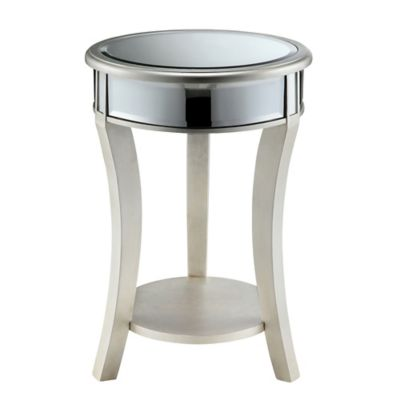 Stein World Macey Accent Table in Silver