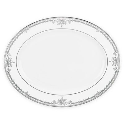 Marchesa by Lenox® Empire Pearl 16-Inch Oval Platter