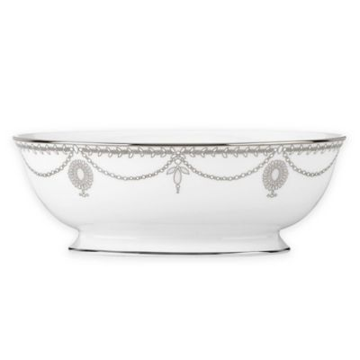 Marchesa by Lenox® Empire Pearl Oval Vegetable Bowl