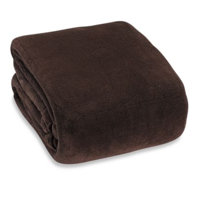 Berkshire Blanket® Indulgence Full/Queen Blanket in Chocolate