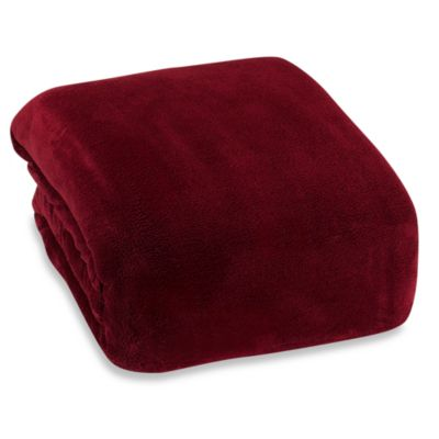 Berkshire Blanket® Indulgence Full/Queen Blanket in Burgundy