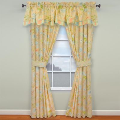 Waverly® Cape Window Valance in Coral