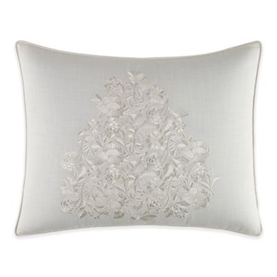 Tommy Bahama® Heirloom Embroidery Breakfast Throw Pillow in Coconut