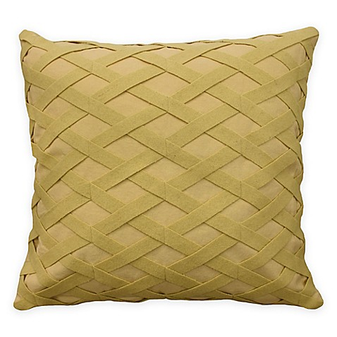 waverly sanctuary rose square throw pillow in ivory bed bath beyond. Black Bedroom Furniture Sets. Home Design Ideas
