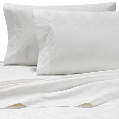 Tommy Bahama® Heirloom Embroidery King Sheet Set in Coconut