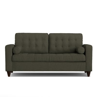 Handy Living Swane SoFast Sofa in Basil Grey Linen