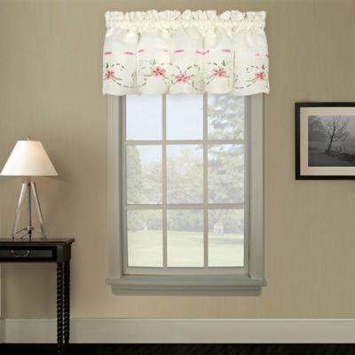 Rachael Window Curtain Valance in Taupe