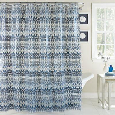Blue Bath Shower Curtains