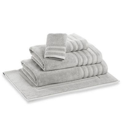 DKNY Luxe Bath Sheet in Silver